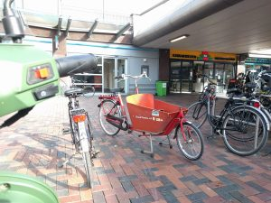 Times are changing - Bakfiets at Bims